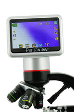 LCD scree and objectives for the Celestron Pentaview LCD Digital Microscope (SKU: 44348).