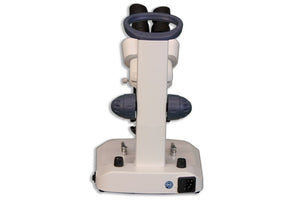 Meiji EM-30 LED Binocular Entry-Level Dual 1X, 3X Incident and Transmitted Turret Stereo Microscope