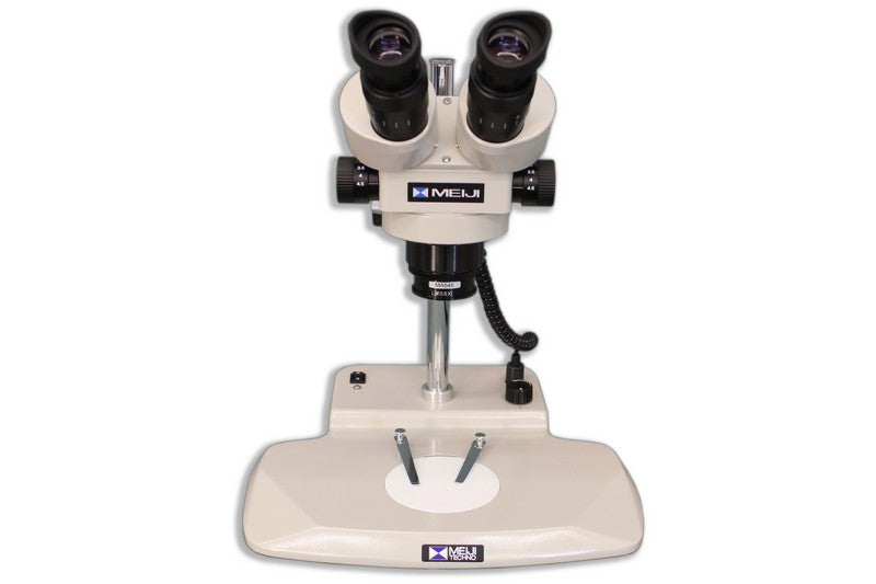 Front view of the Meiji EMZ-200 Binocular Microsurgical System