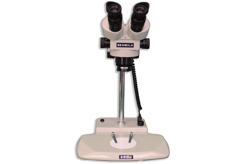 Front view of the Meiji EMZ-250 Binocular Microsurgical System