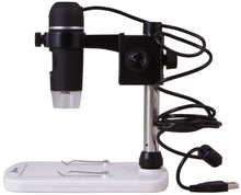 Side view of the Levenhuk DTX 90 Digital Microscope (SKU: 61022).