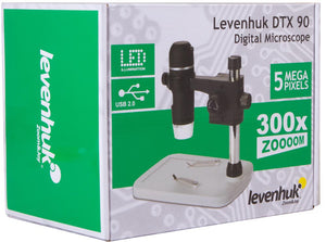 Box for Levenhuk DTX 90 Digital Microscope (SKU: 61022).