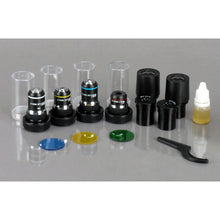 Accessories for the AmScope 40X-2000X 3W LED Siedentopf Trinocular Compound Microscope (SKU: T340B-LED-10M).