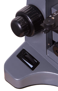Focusing knob for Levenhuk D740T 5.1M Digital Trinocular Microscope (SKU: 69658).