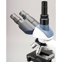 Eyepieces, trinocular piece, and objectives for the AmScope 40X-2500X LED Lab Trinocular Compound Microscope w 3D Two-Layer Mechanical Stage & HD Recording Camera (SKU: T120C-HC2).