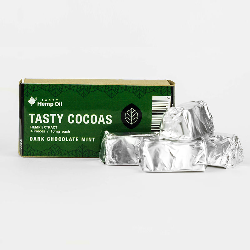 CBD Dark Chocolate Chews