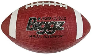 Biggz Premium Rubber Footballs Official Size - Bulk Balls