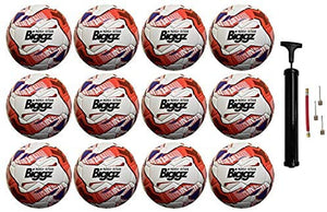 12 Pack - Premium Freedom Soccer Ball Size 5 Bulk Wholesale with Pump - Bulk Balls