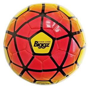 (Pack of 6) Biggz Premium Soccer Balls Durable Size 5 - Bulk Balls
