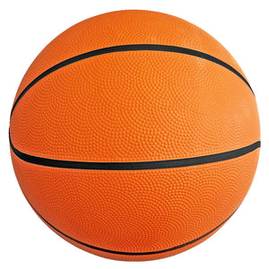 "(Pack of 6) Biggz Premium Rubber Basketballs - Orange - Official Size 7 (29.5"") - Bulk Balls"