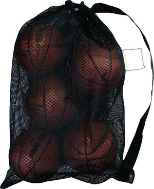 Biggz Heavy-Duty Mesh Sports Bag with Carry Strap - Bulk Balls