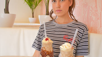 Lazy Afternoon With A Couple Milkshakes & Our Lazy Palm T