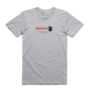 Danger In Paradise Tee (Grey Marle)