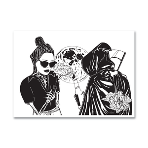 Black & White A3 Art Print