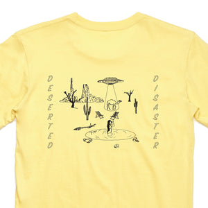 Deserted Tee (Lemon)