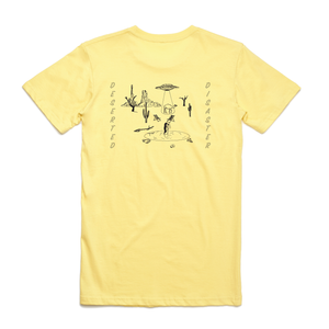 Yellow T-Shirt With Camel Print