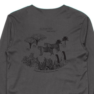 Elevated Long Sleeve Tee (Charcoal)