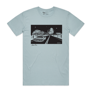 Jupiter Drive T-Shirt (Pale Blue)