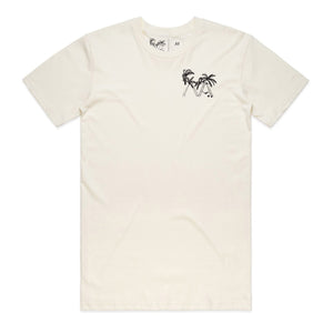 Lazy Palm T-Shirt (Natural)