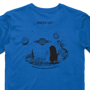 Spaced Out T-Shirt (Royal Blue)
