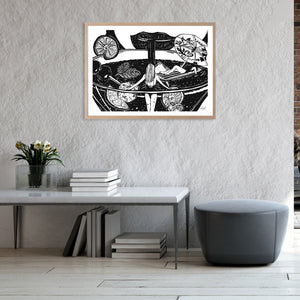 THIRSTY WORK | ART PRINT