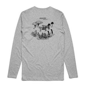 Elevated Long Sleeve Tee (Grey Marle)