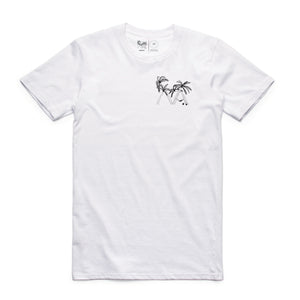 Lazy Palm Tee (White)
