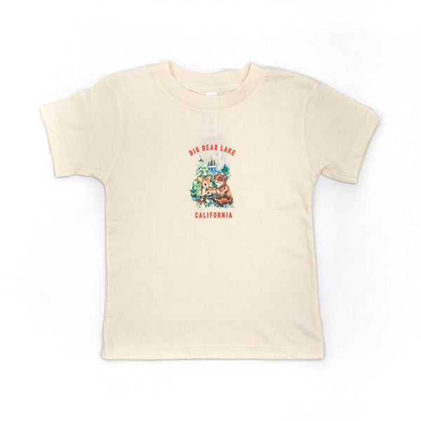 Big Bear Lake Forest Babies Tee - Big Bear Lake - Camp Crib - Big Bear Logo - Children's Clothing