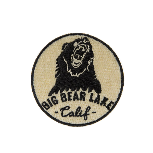 Big Bear Lake Round Patch - Custom Logo - Iron On Patch - Souvenir - Women's Clothing Store - Boutique - O KOO RAN - Big Bear Lake California