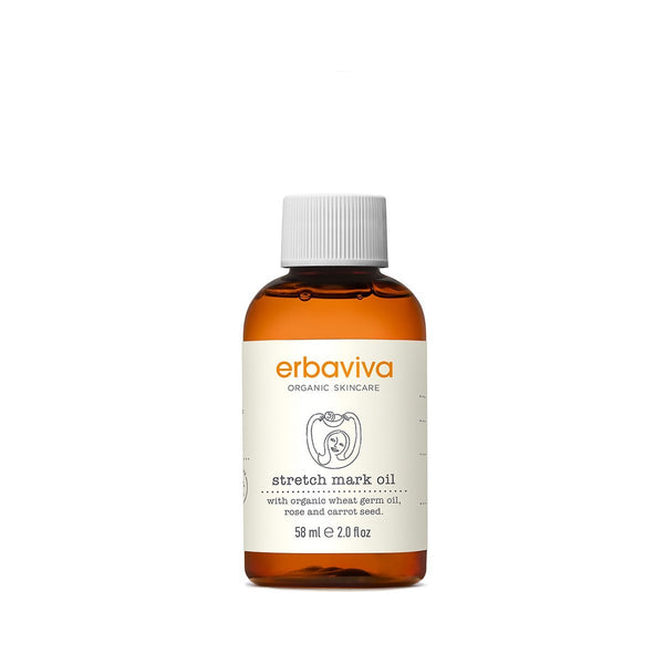 Erbaviva Stretch Mark Oil - Travel Size - Skincare Products - Pregnancy - Stretch Mark Prevention - Organic Skincare - Essential Oil - Camp Crib - Big Bear Lake