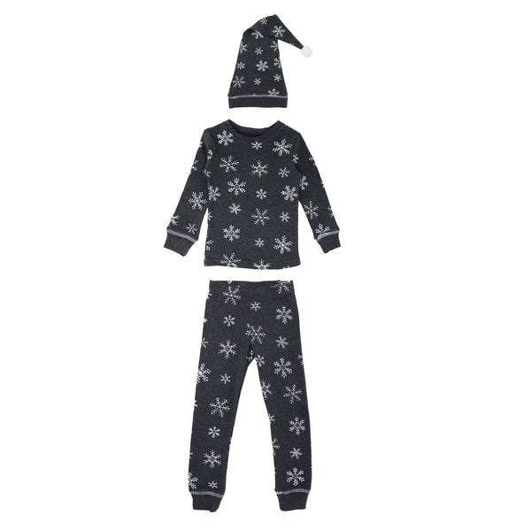 Frost Long Sleeve PJ + Cap Set