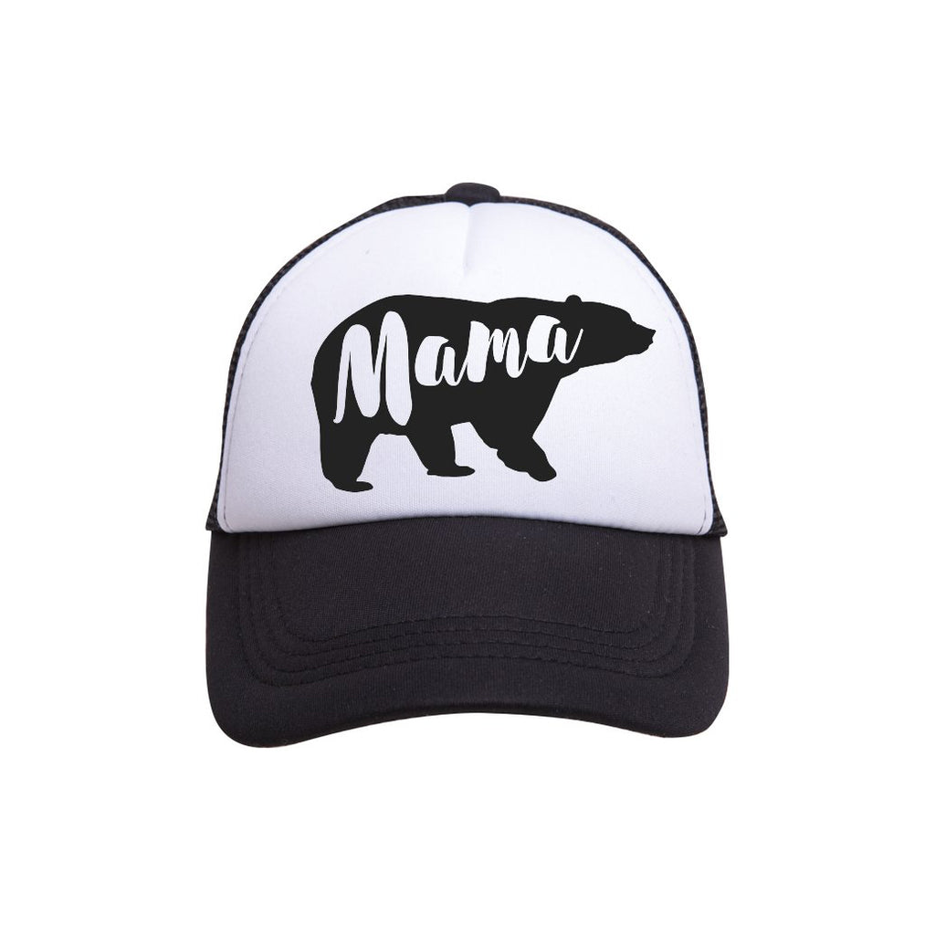 Mama Bear Trucker Hat - Tiny Trucker Co- Trucker Hat - Mama Bear - Camp Crib - Big Bear Lake