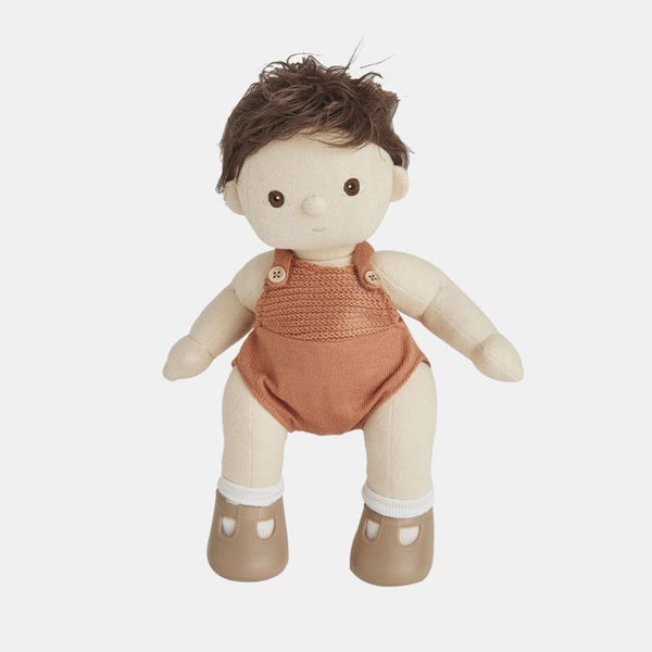 Olli Ella Dinkum Doll - Peanut - Infant Toy - Organic Cotton - Children's Boutique - Baby Clothing Store - Camp Crib - Big Bear Lake California