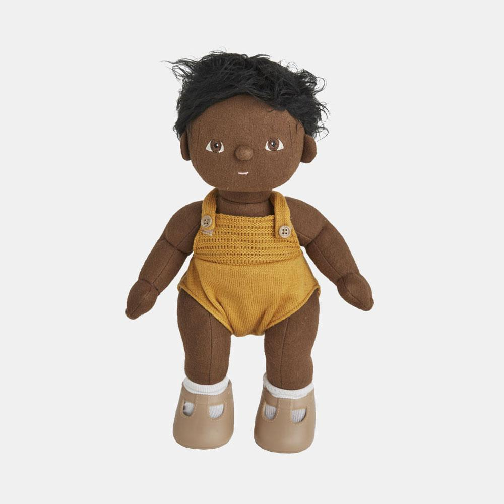 Olli Ella Dinkum Doll - Tiny - - Infant Toy - Organic Cotton - Children's Boutique - Baby Clothing Store - Camp Crib - Big Bear Lake California