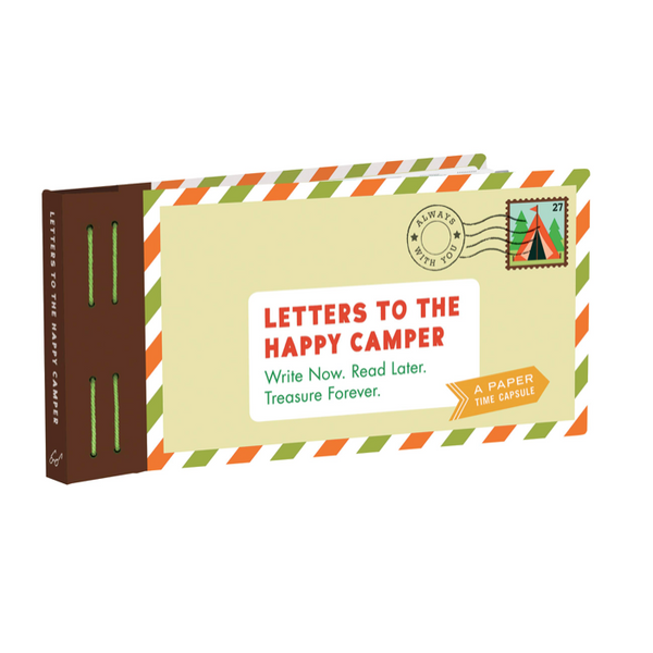 Hachette Letters To The Happy Camper - Write Now - Read Later - Treasure Forever - Paper Time Capsule - Book - Children's Book - Gift - Big Bear Lake California