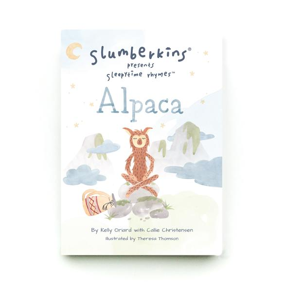 Slumberkins Sleepytime Rhymes - Alpaca Board Book - Children's Book - Children's Clothing Store - Camp Crib - Big Bear Lake