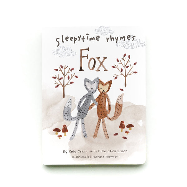 Sleepytime Rhymes - Fox Board Book - Books - Slumberkins - Camp Crib - Big Bear Lake