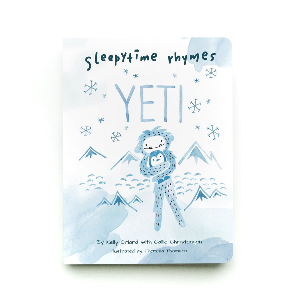 Sleepytime Rhymes Yeti Board Book - Slumberkins - Book - Camp Crib - Big Bear Lake - Yeti Book