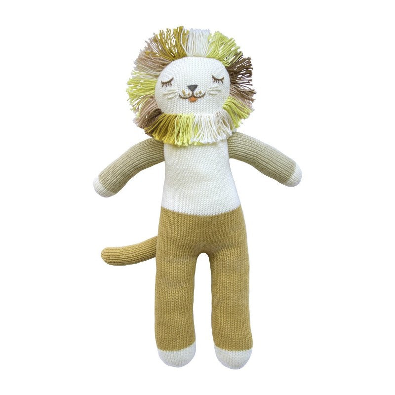 Blabla Kids - Lionel The Lion - Kids Plush Doll - Infant Toy - Children's Boutique - Baby Clothing Store - Camp Crib - Big Bear Lake California