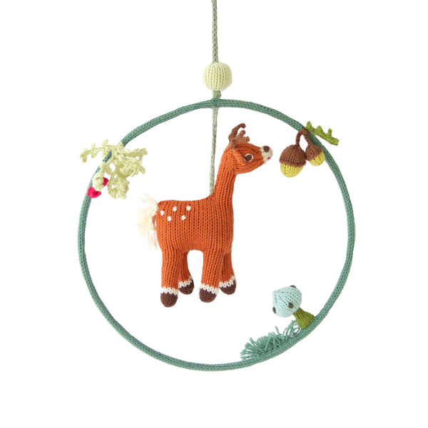 Blabla Kids - Deer Dream Ring - Baby Nursery Decor - Children's Room - Kid's Art - Baby Clothing Store - Children's Clothing Store - Kid's Room - Big Bear Lake - Camp Crib