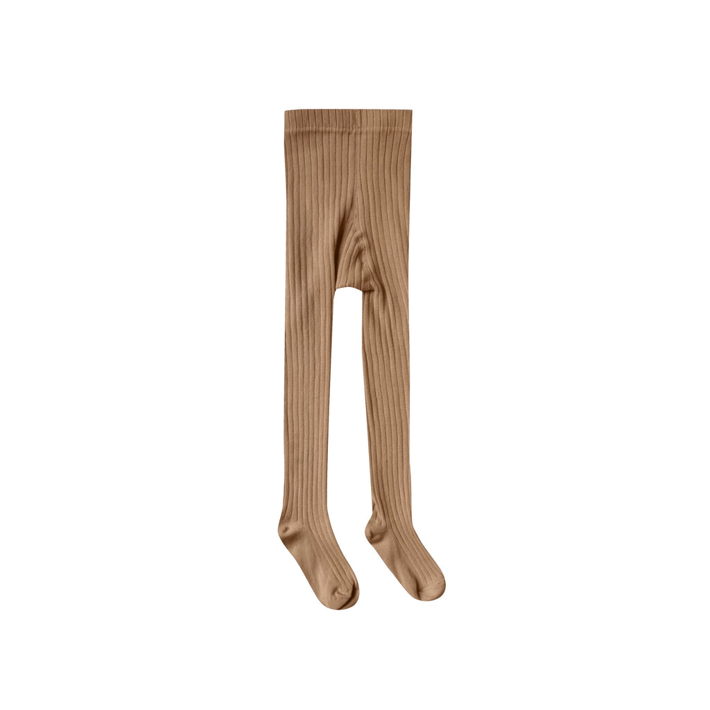 Rylee & Cru Solid Ribbed Tights Caramel - Fall Collection - Kid's Tights - Children's Boutique - Baby Clothing Store - Camp Crib - Big Bear Lake California