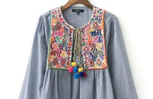 Embroidery Garments | Embroidered Boho Jacket