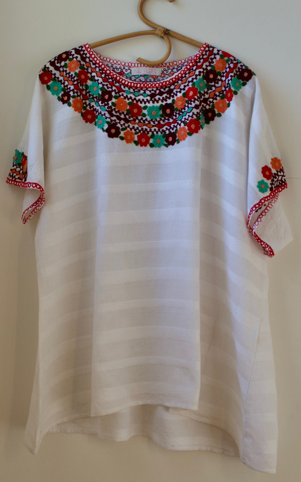 Amira Embroidered Top