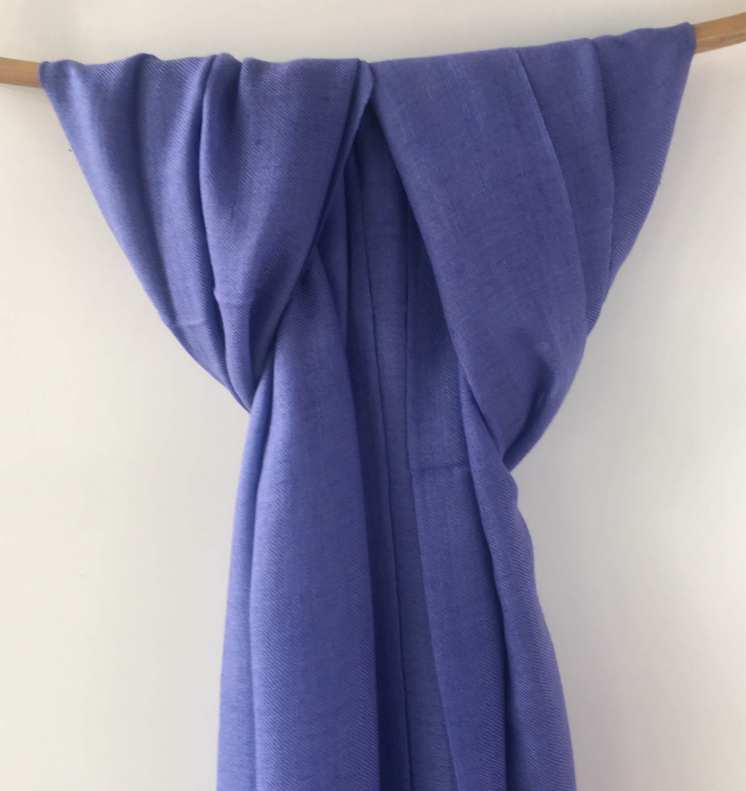 Pure Pashmina Scarf - Purple