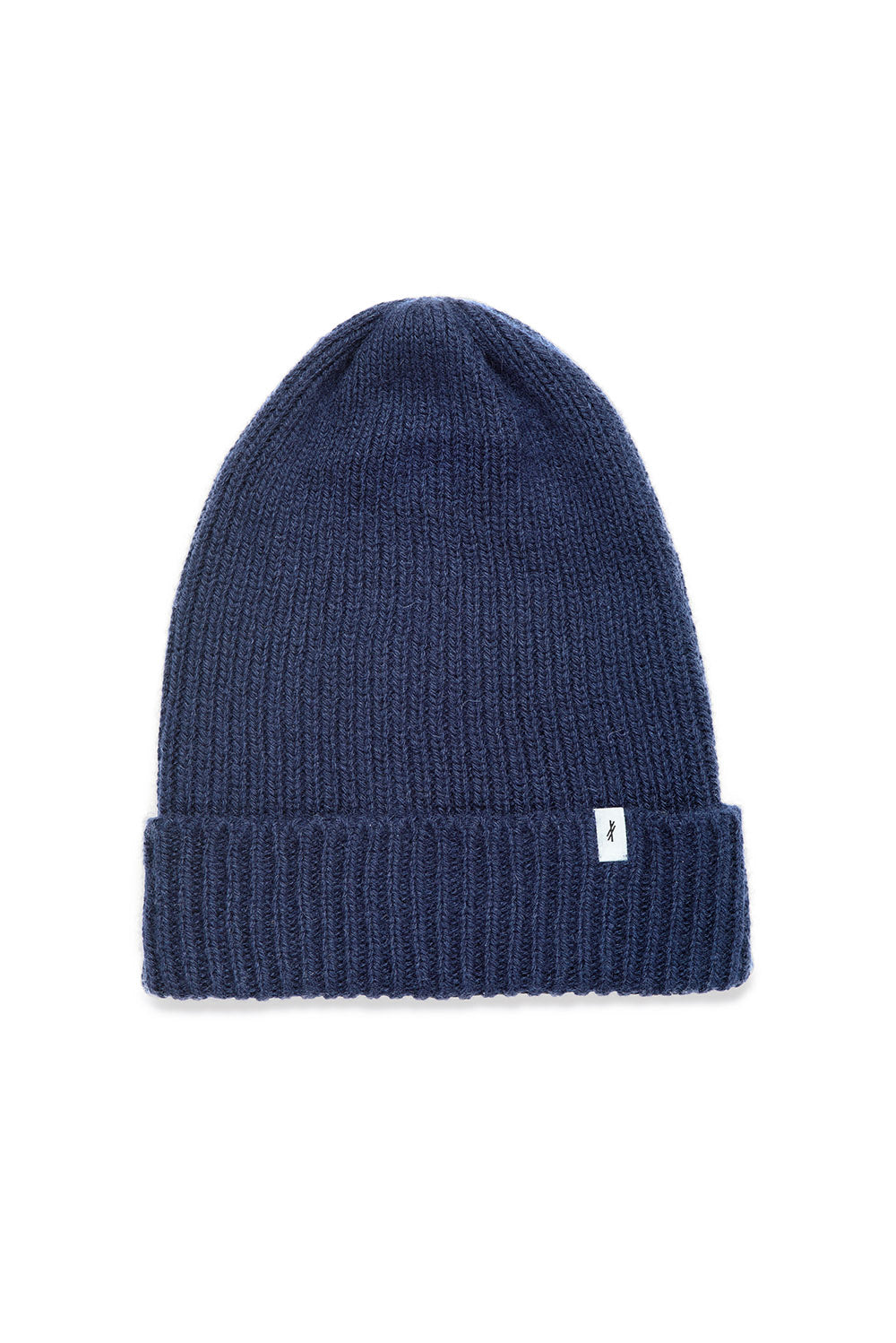 Navy Alpaca Hat