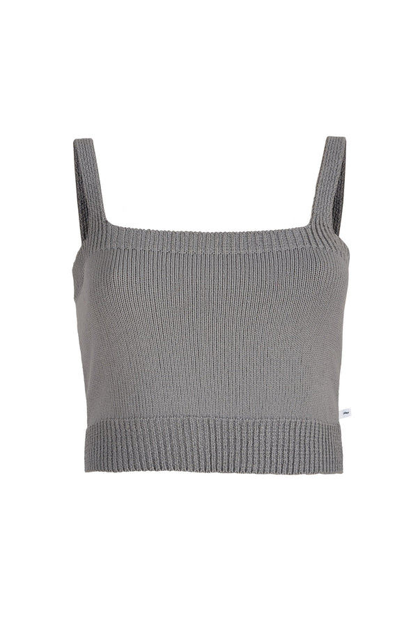 Crop Top Grey