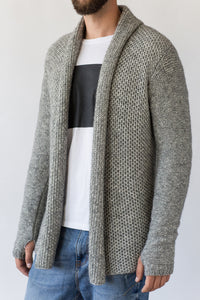 Como Cardigan in Grey Melange