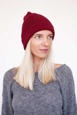 Cherry Alpaca Hat