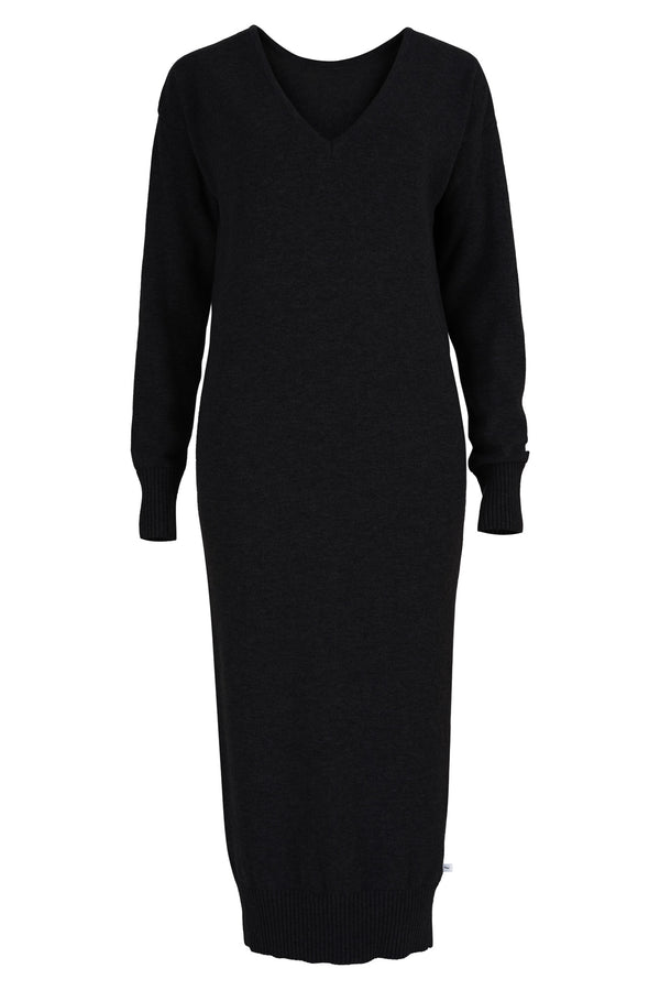 Lungo Sweater Dress Black