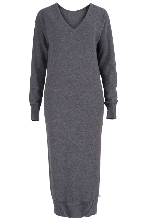 Lungo Sweater Dress Grey